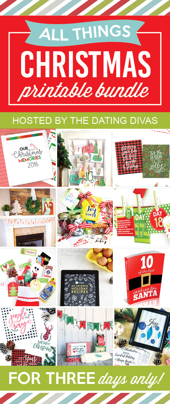 All Things Christmas Printable Bundle
