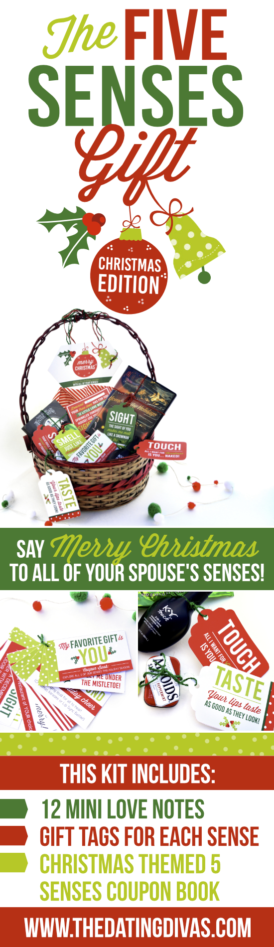 5 Senses Christmas Gift Idea that is perfect for a spouse!