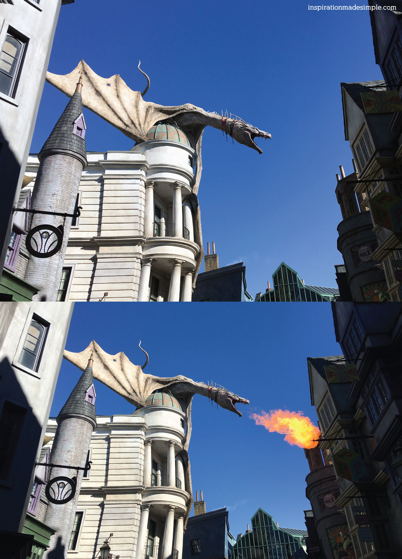 Escape from Gringotts, Diagon Alley, Wizarding World of Harry Potter, Universal Studios