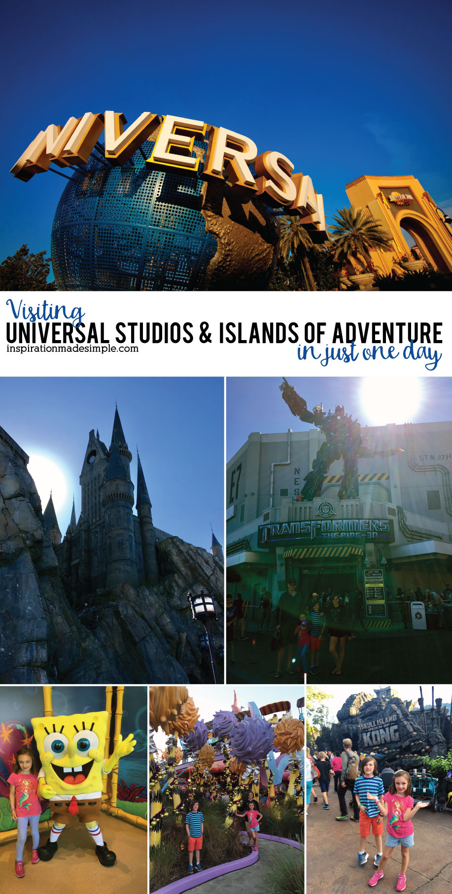 Visiting Universal Studios and Islands of Adventure in just one day