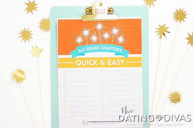 365 Ways to Ignite the Spark Printable Kit
