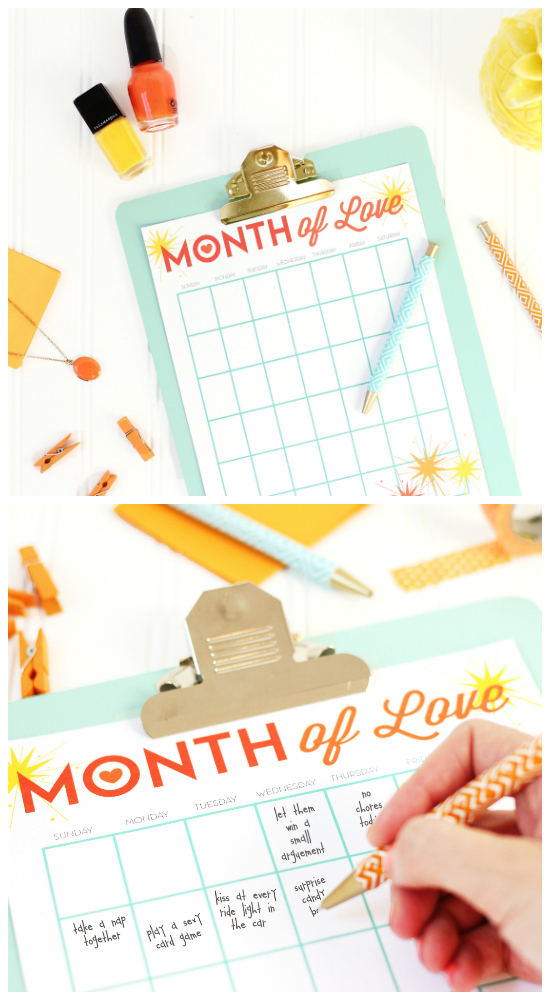 365 Ways to Rekindle the Spark in your Marriage - Easy Printable Kit with tons of ideas!