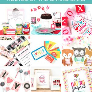 All Thing's Valentines Day Bundle - TIps, tricks and tons of printables to create the best Valentine's Day Ever!