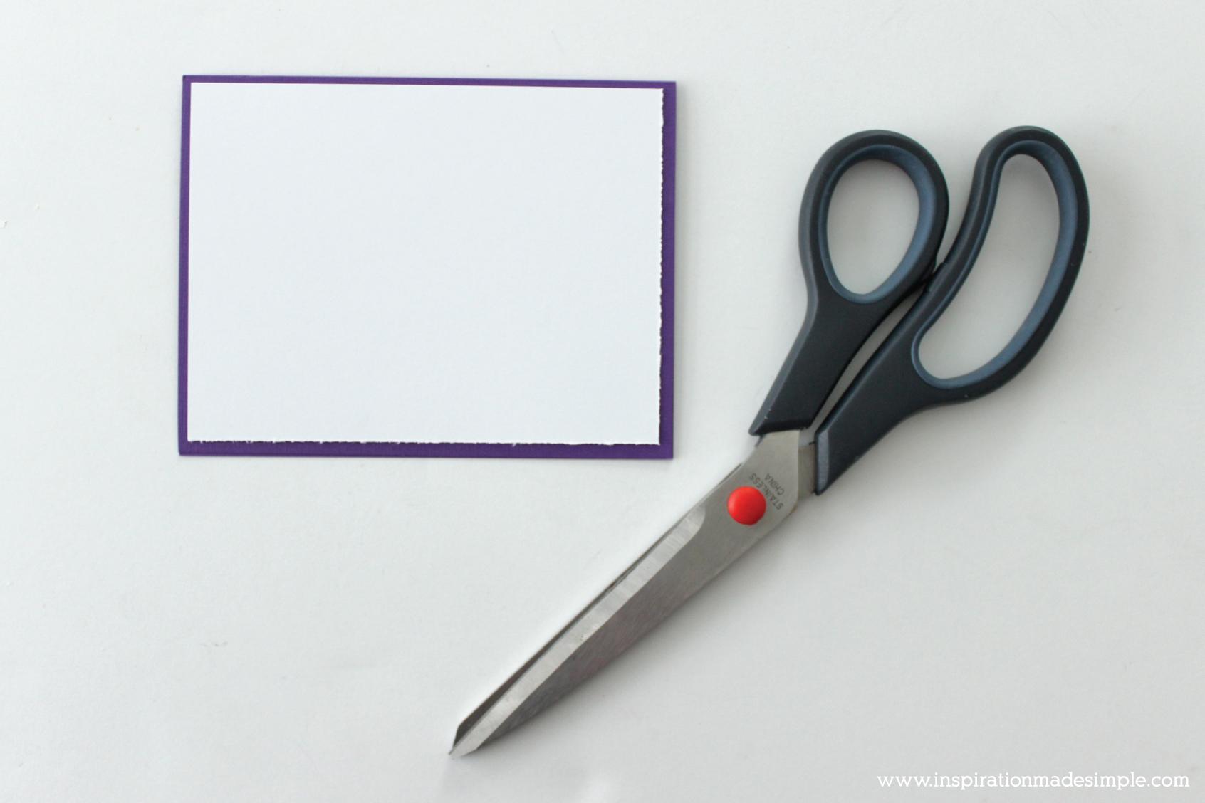DIY Watercolor Embossed Greeting Card
