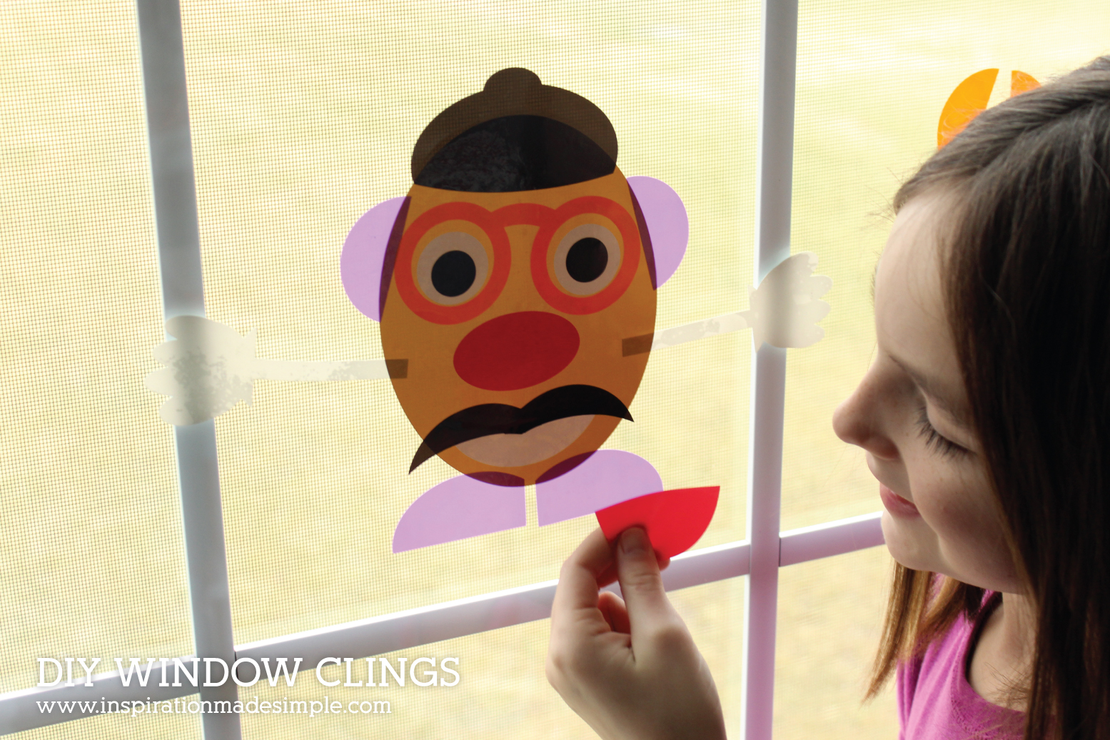 DIY Window Clings Kids Activity