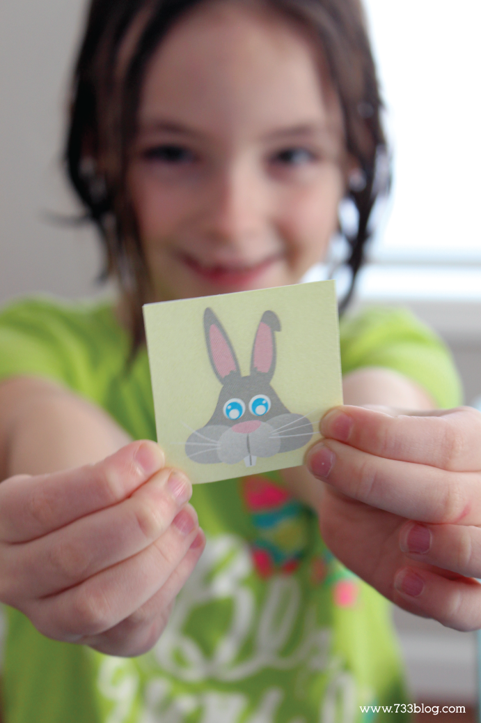Printable Easter Memory Game