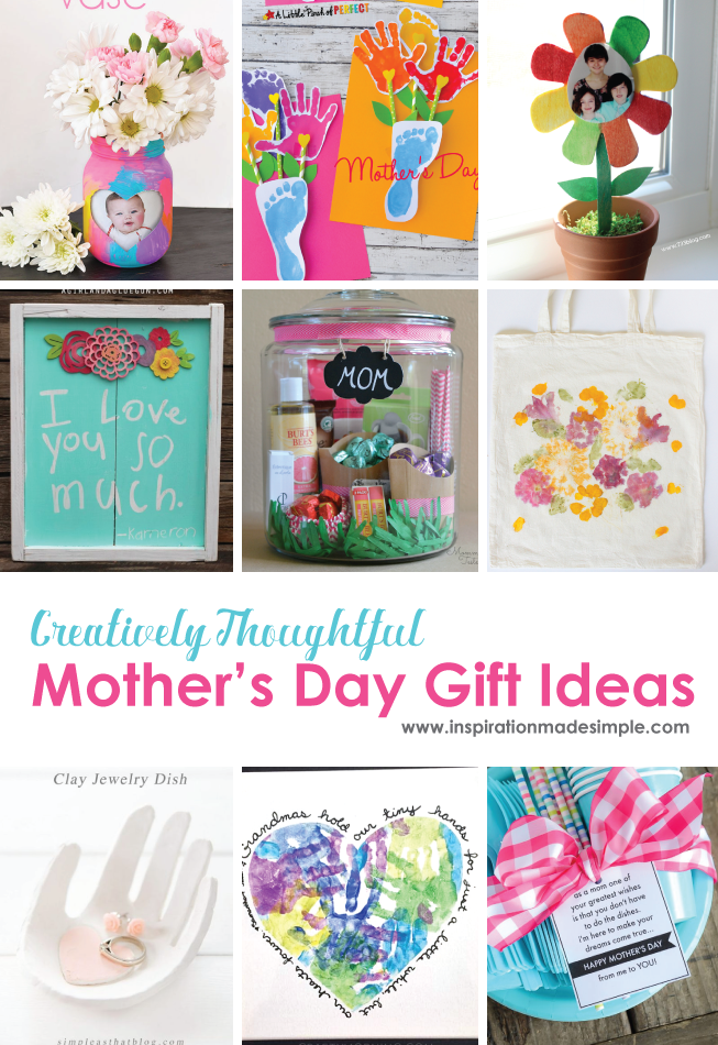 Creatively Thoughtful Mother's Day Gift Ideas