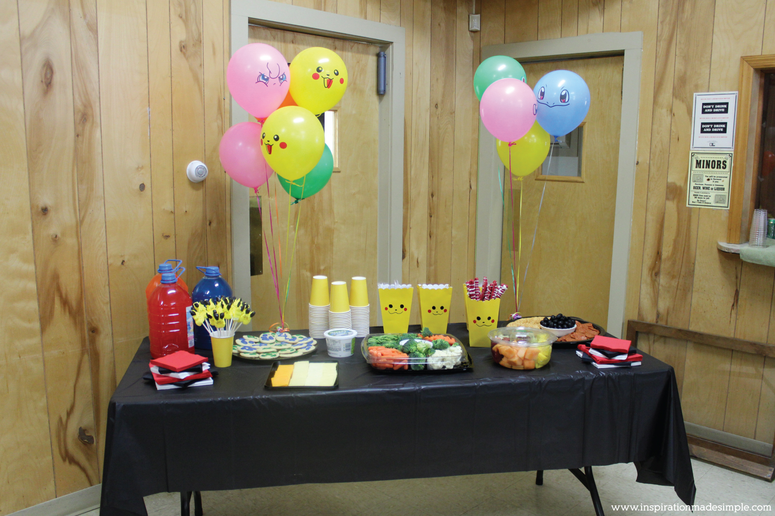 Diy Pokemon Party Inspiration Made Simple