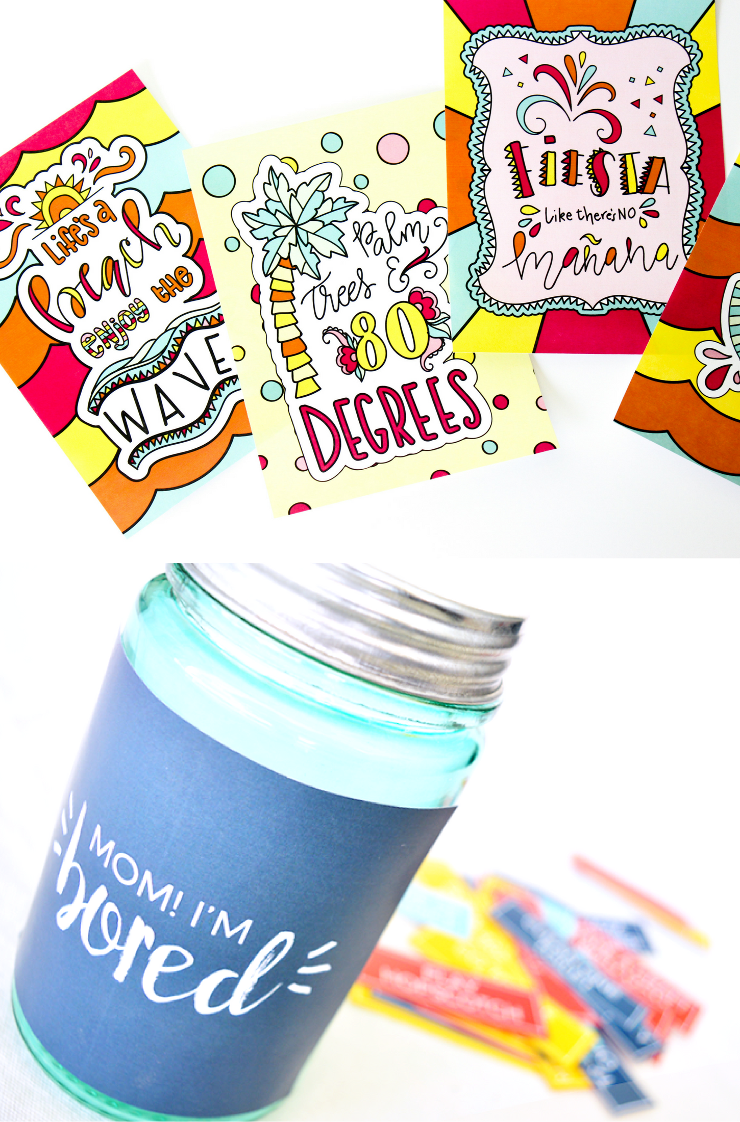 All Things Summer Printable Bundle - get OVER $400 worth of ADORABLE items for only $15, and only for a limited time!