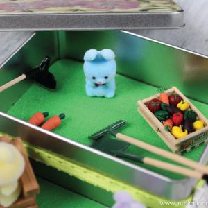 DIY Miniature Garden Kids Craft - fun on the go activity
