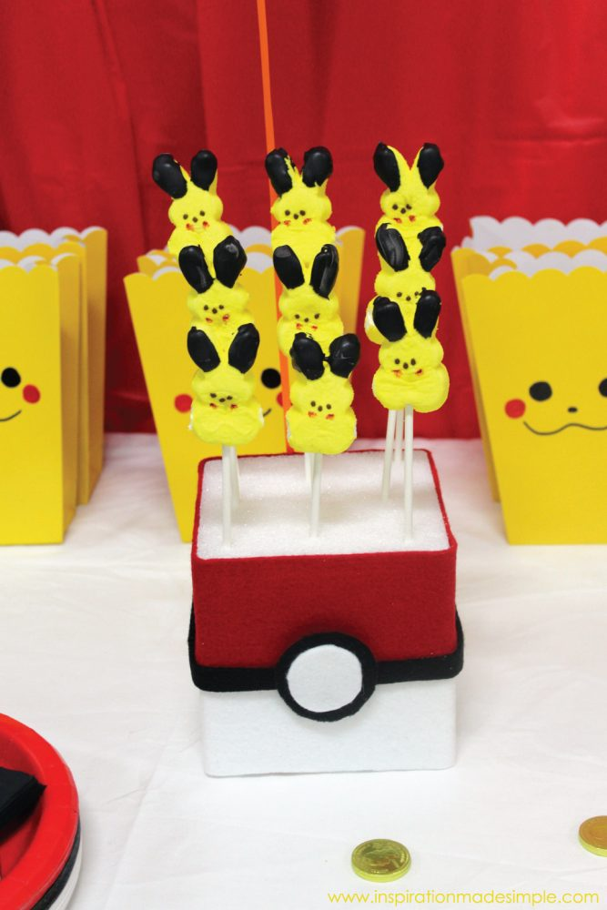 DIY Pokeball Treat Holders for a Pokemon Birthday Party