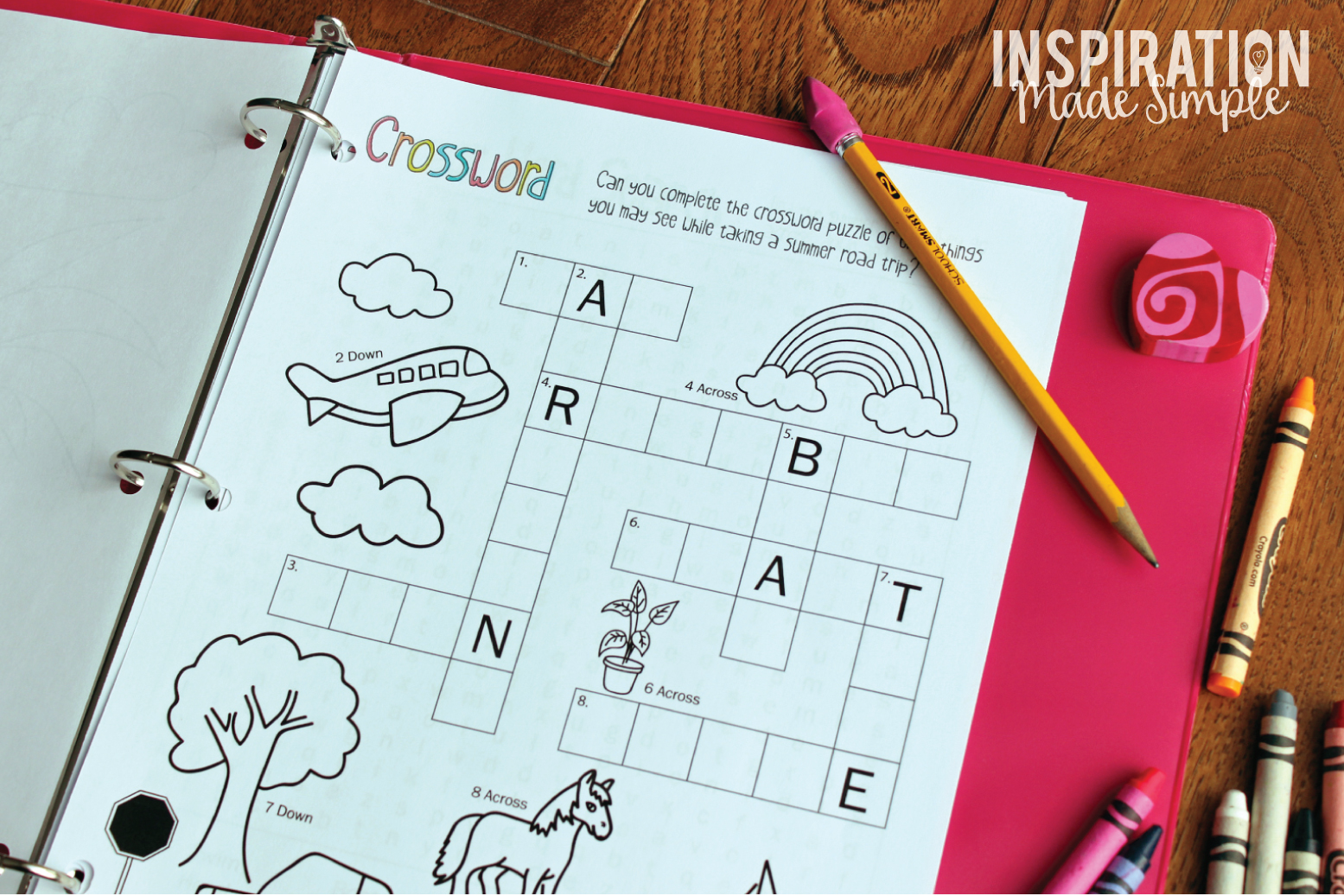 Printable Summer Fun Activity Book and Journal