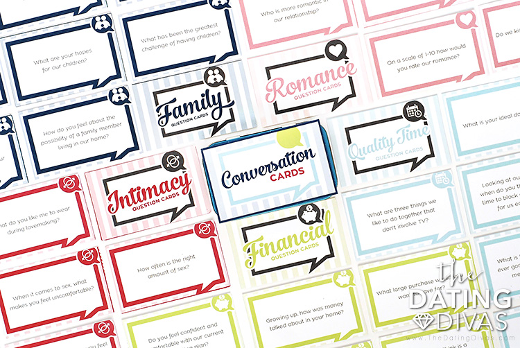 Printable Conversation Starters for Couples!