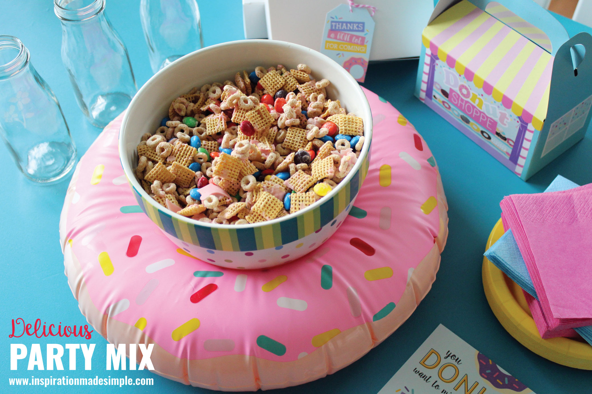 Delicious Party Snack Mix - Easy and fun snack recipe!