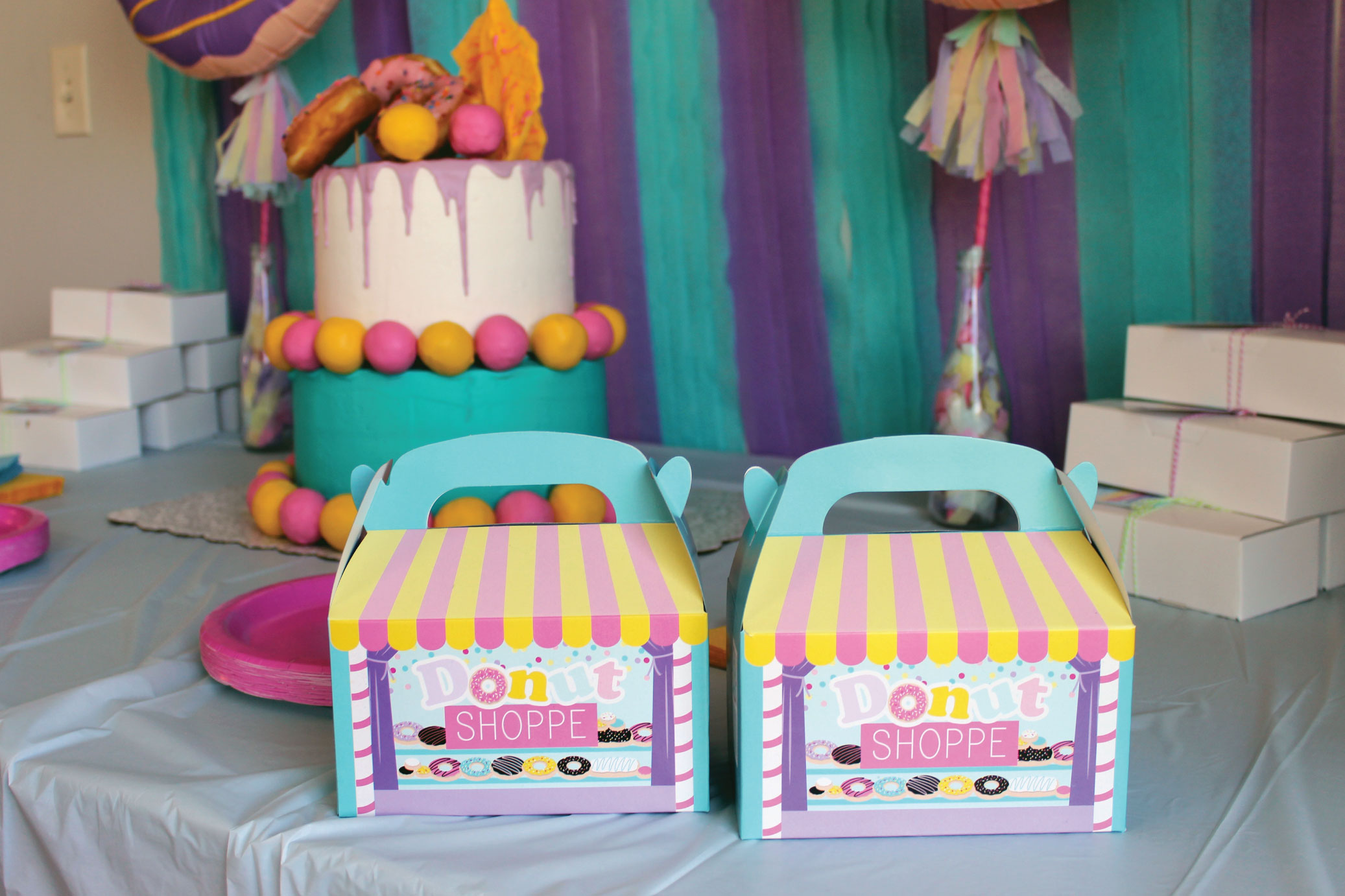 DIY Donut Birthday Party