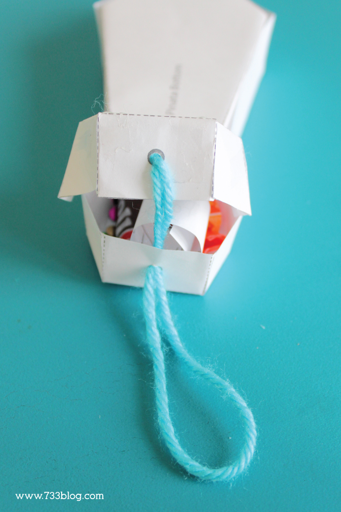 This Mini Tie Pinata is a fun and festive Father's Day Gift Idea!