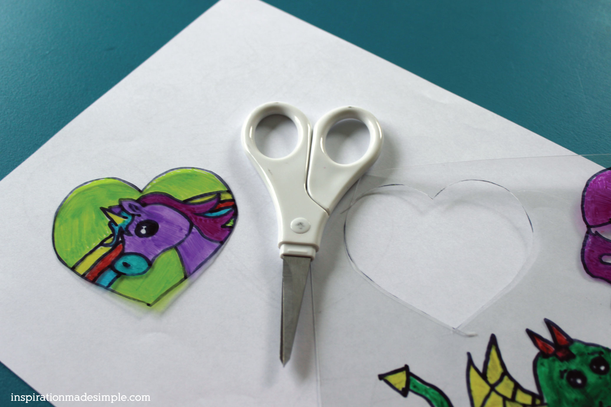 DIY Shrink Film Stencils to create Zipper Pulls and Pins!