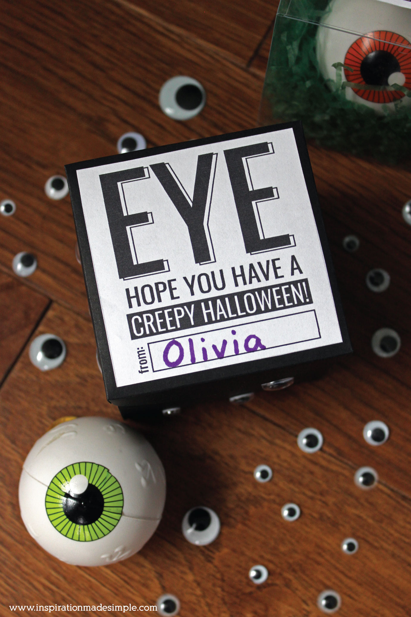 Halloween Favor and Gift Tag