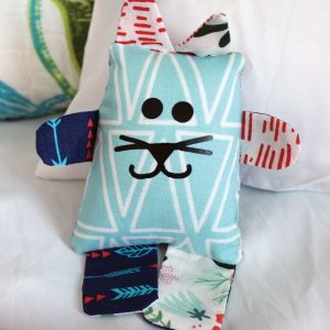 DIY Scrap Fabric Cat