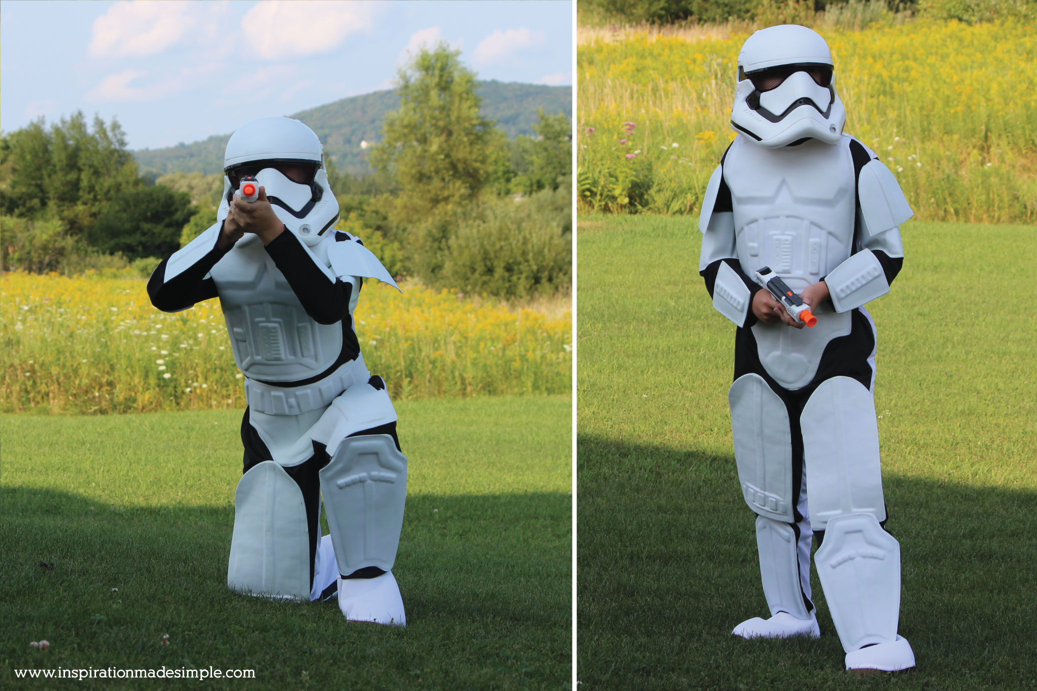 Storm Trooper Kids Costume