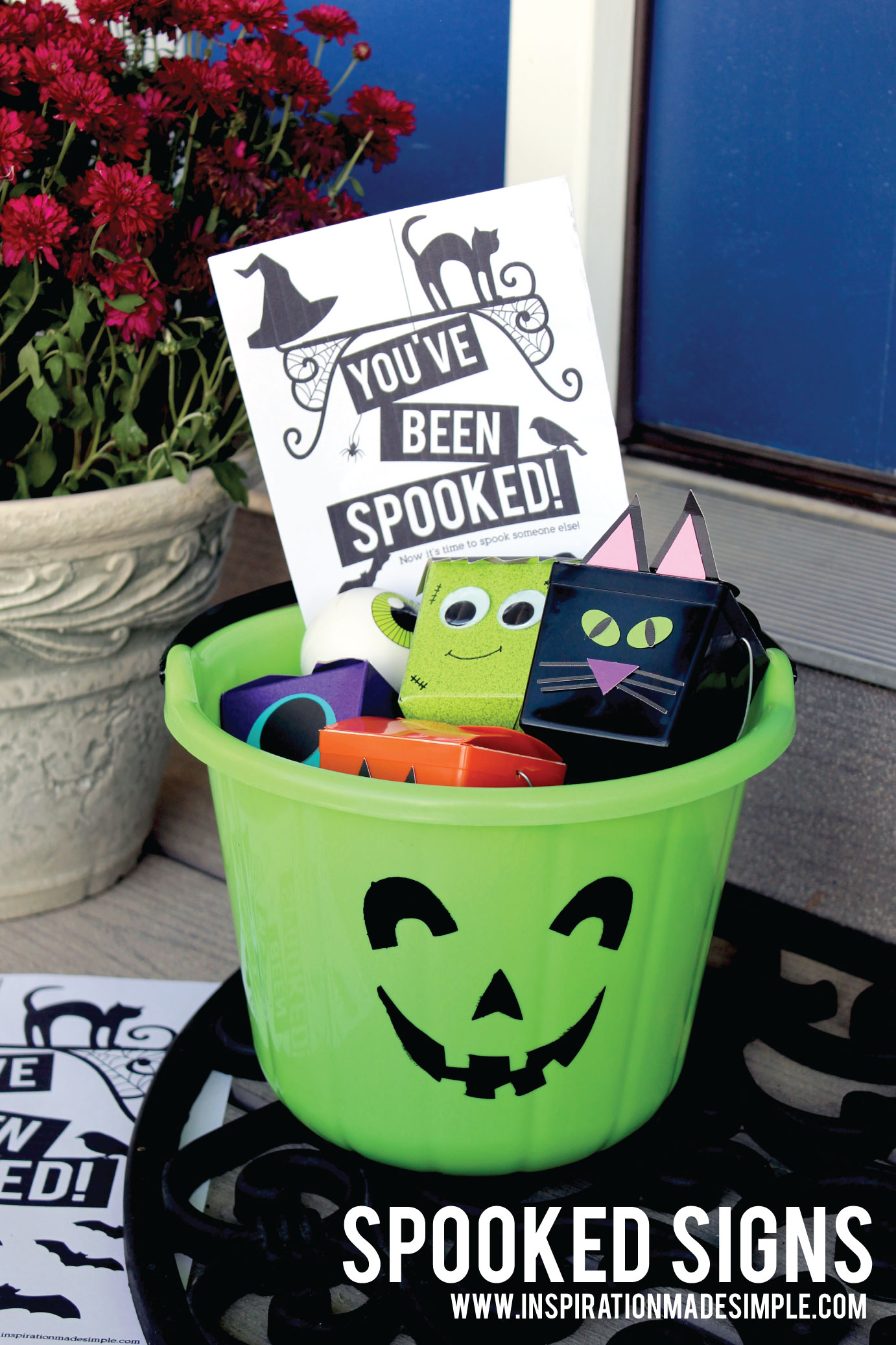 You've Been Spooked Halloween Printables