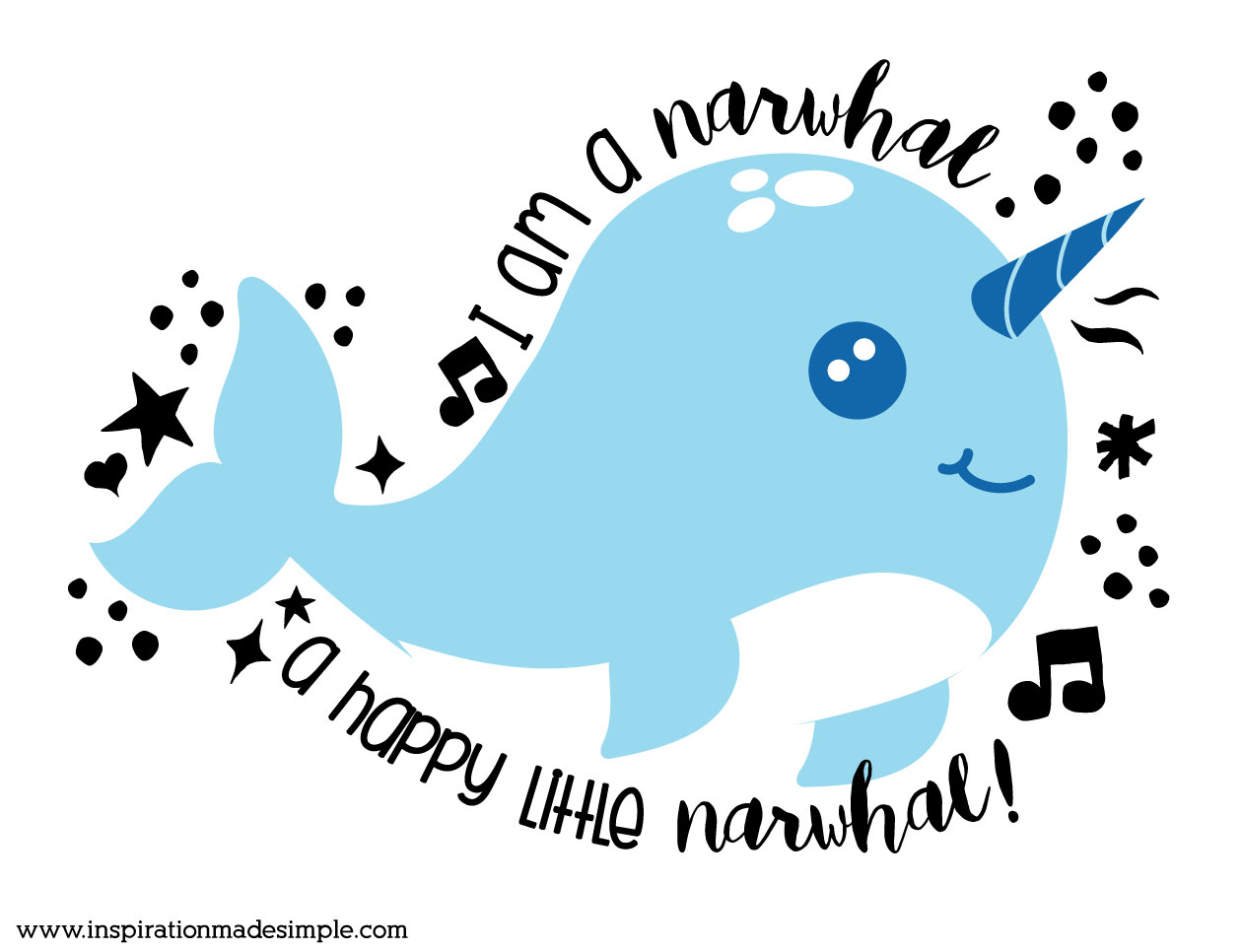 Narwhal Drawing