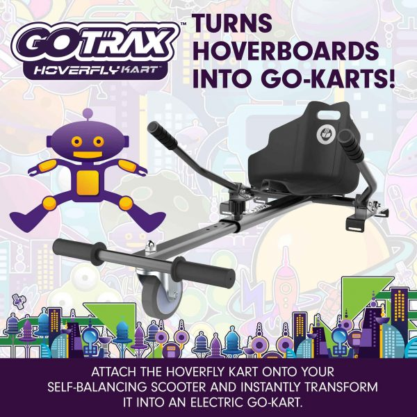 Turn your hoverboard into a gokart!