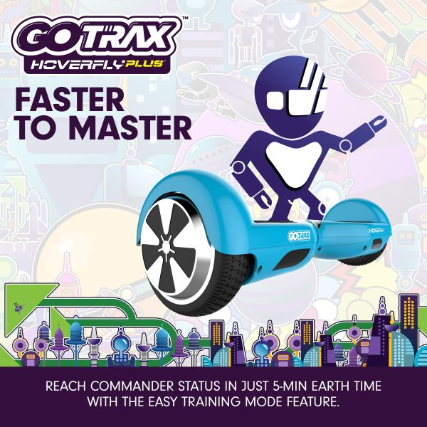 GoTrax Hoverboard Hoverfly Plus