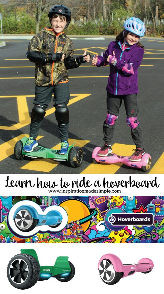 Learn how to ride a hoverboard