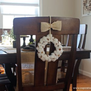 DIY Cotton Stem Wreath