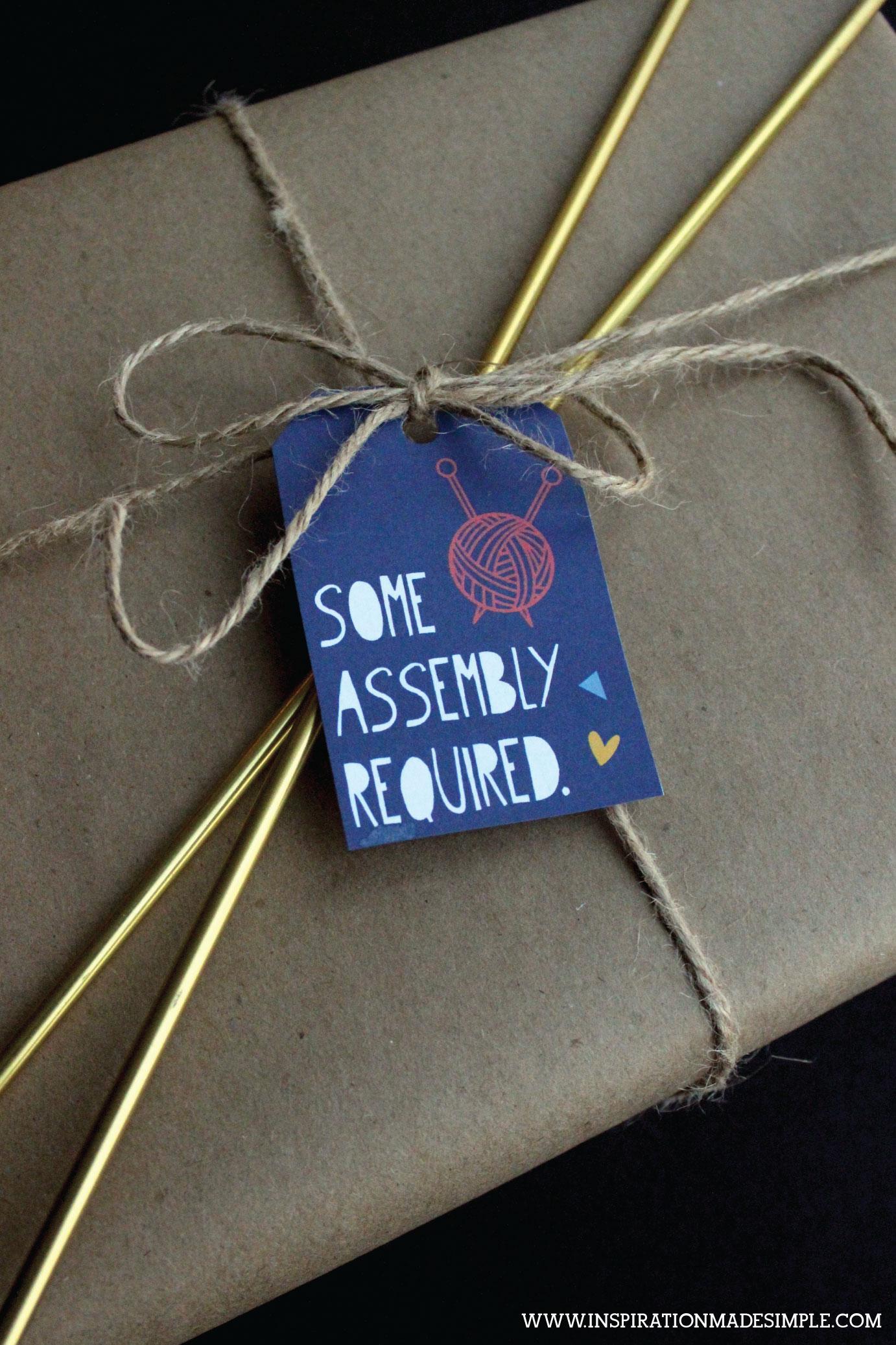 Knitting/Crochet Gift Tags