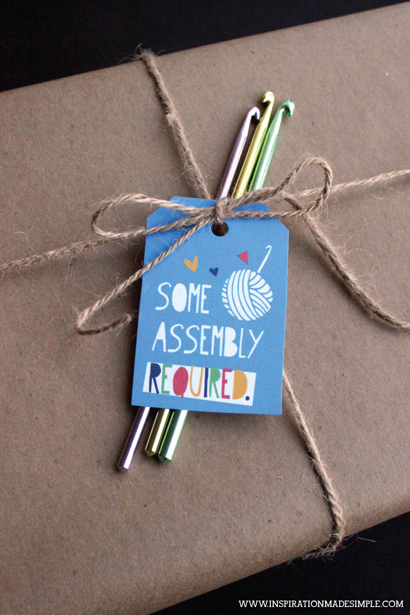 Knitting/Crochet Supplies Gift Tags