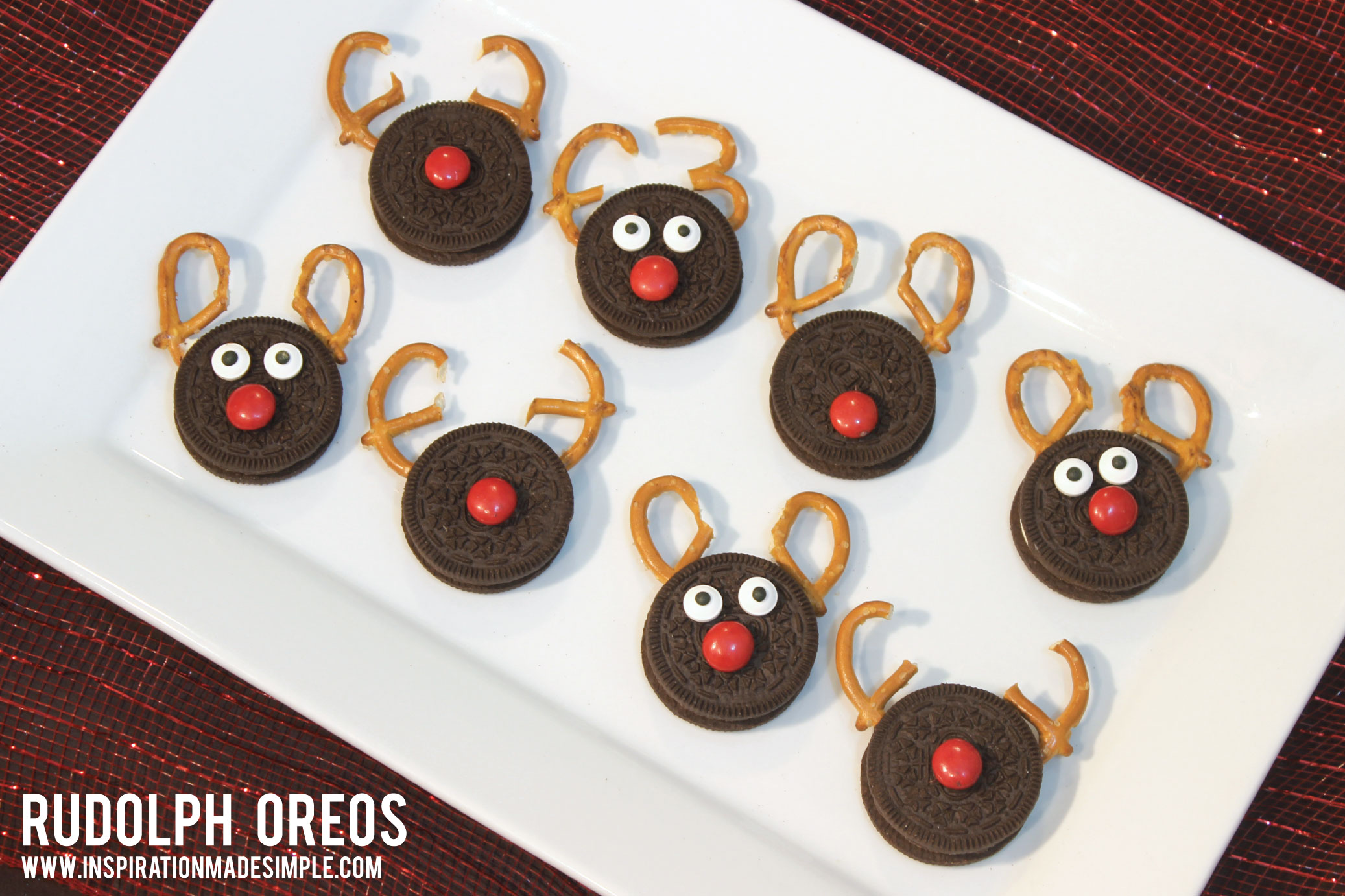 Rudolph Oreos Inspiration Made Simple