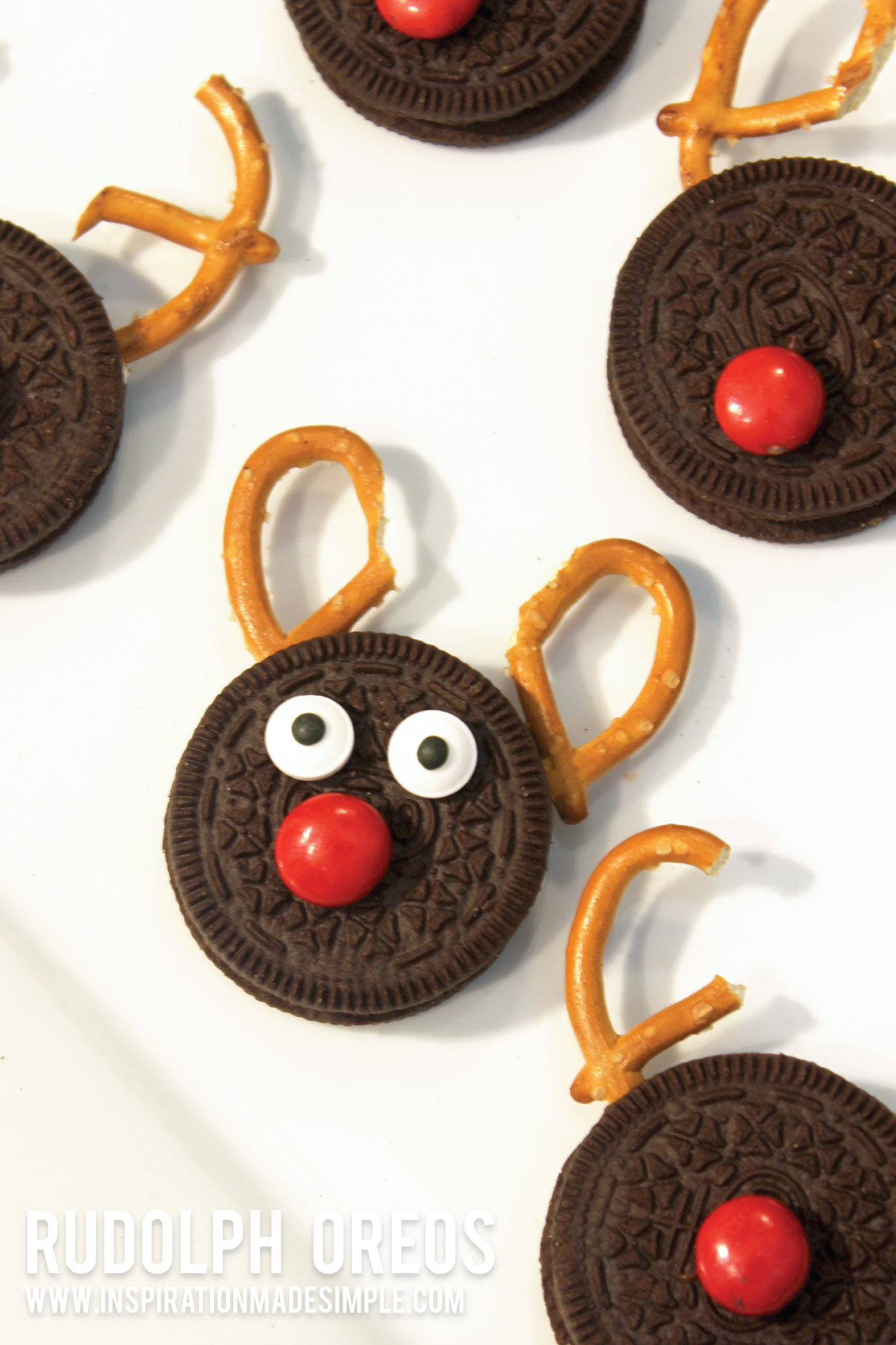 Rudolph Oreo Cookies are perfect for a Cookie Exchange!