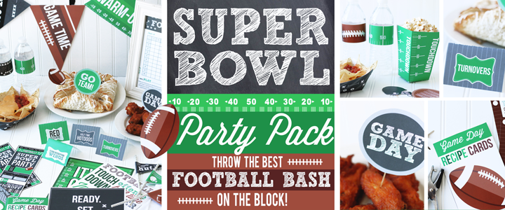 DIY Super Bowl Party Kit