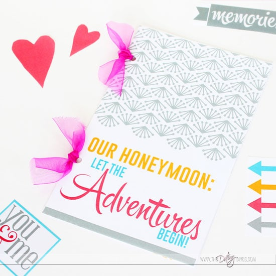 Printable Newlywed Gift Idea