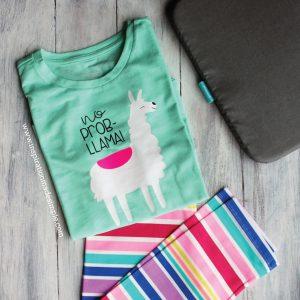 DIY No Prob-Llama Shirt & SVG File