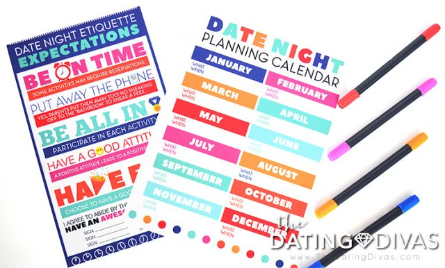 Spending quality time with teens printable pack!
