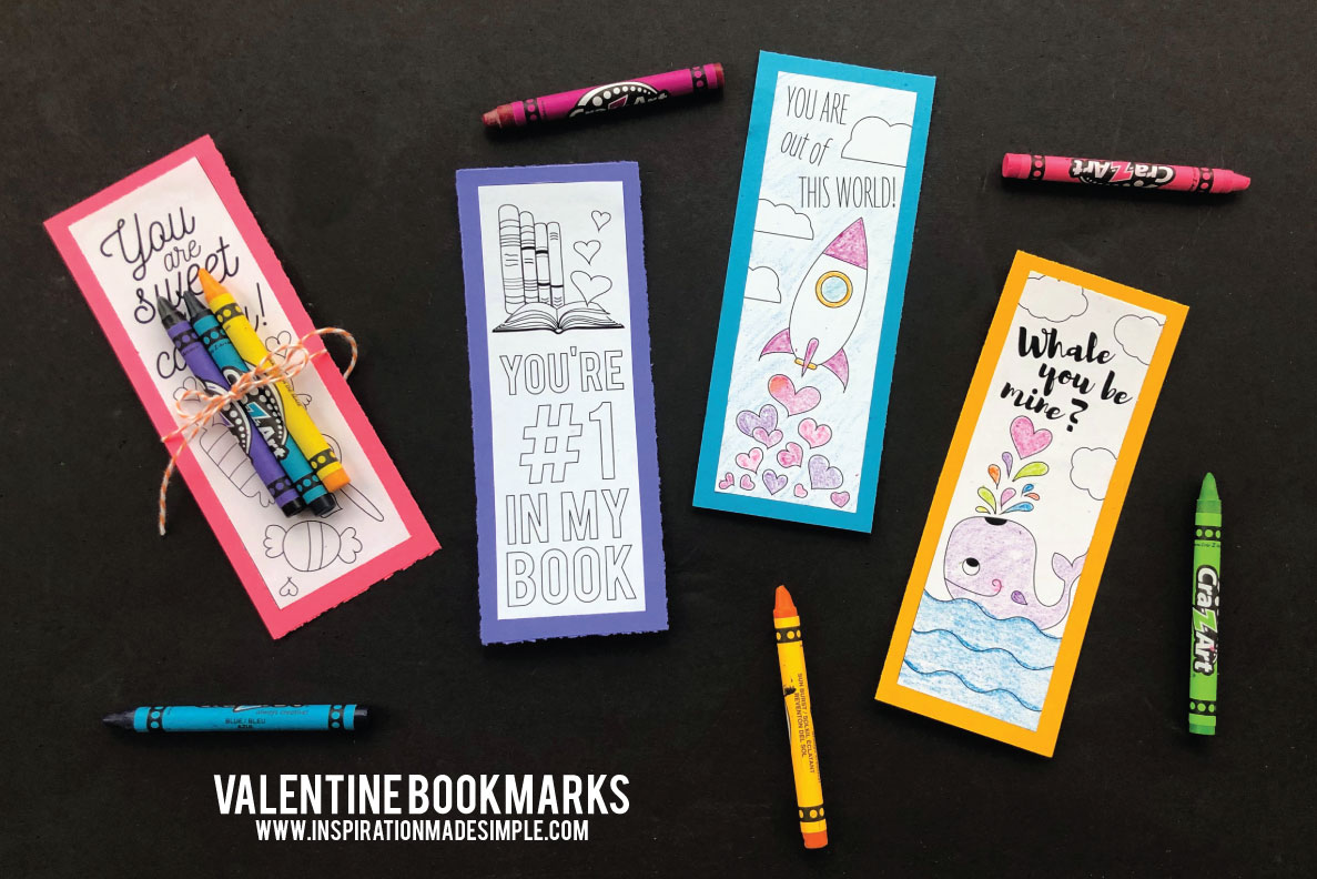 Valentine S Day Bookmarks Inspiration Made Simple