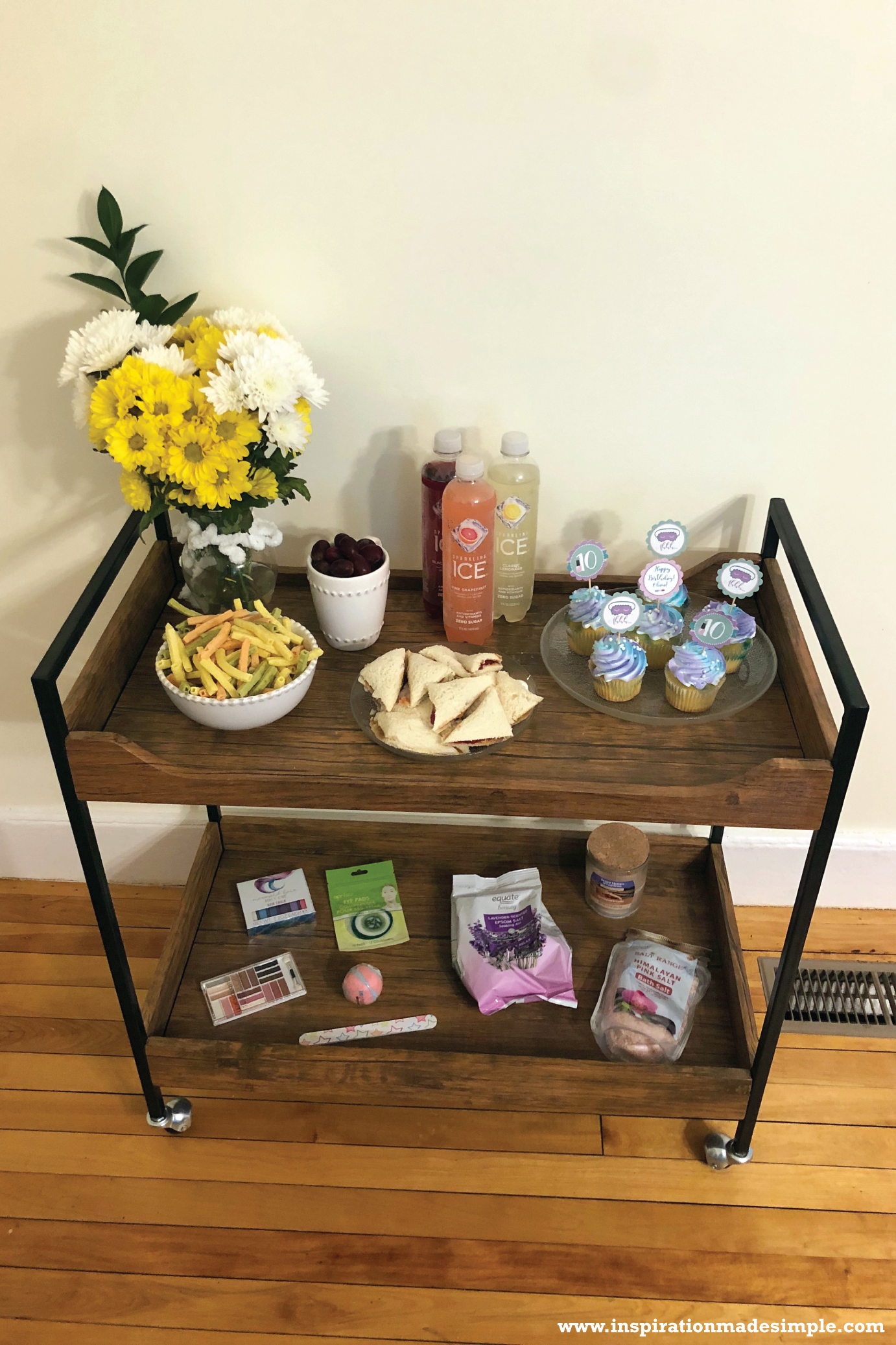 Affordable DIY at home Spa Party