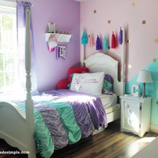 DIY Pastel Girls Room