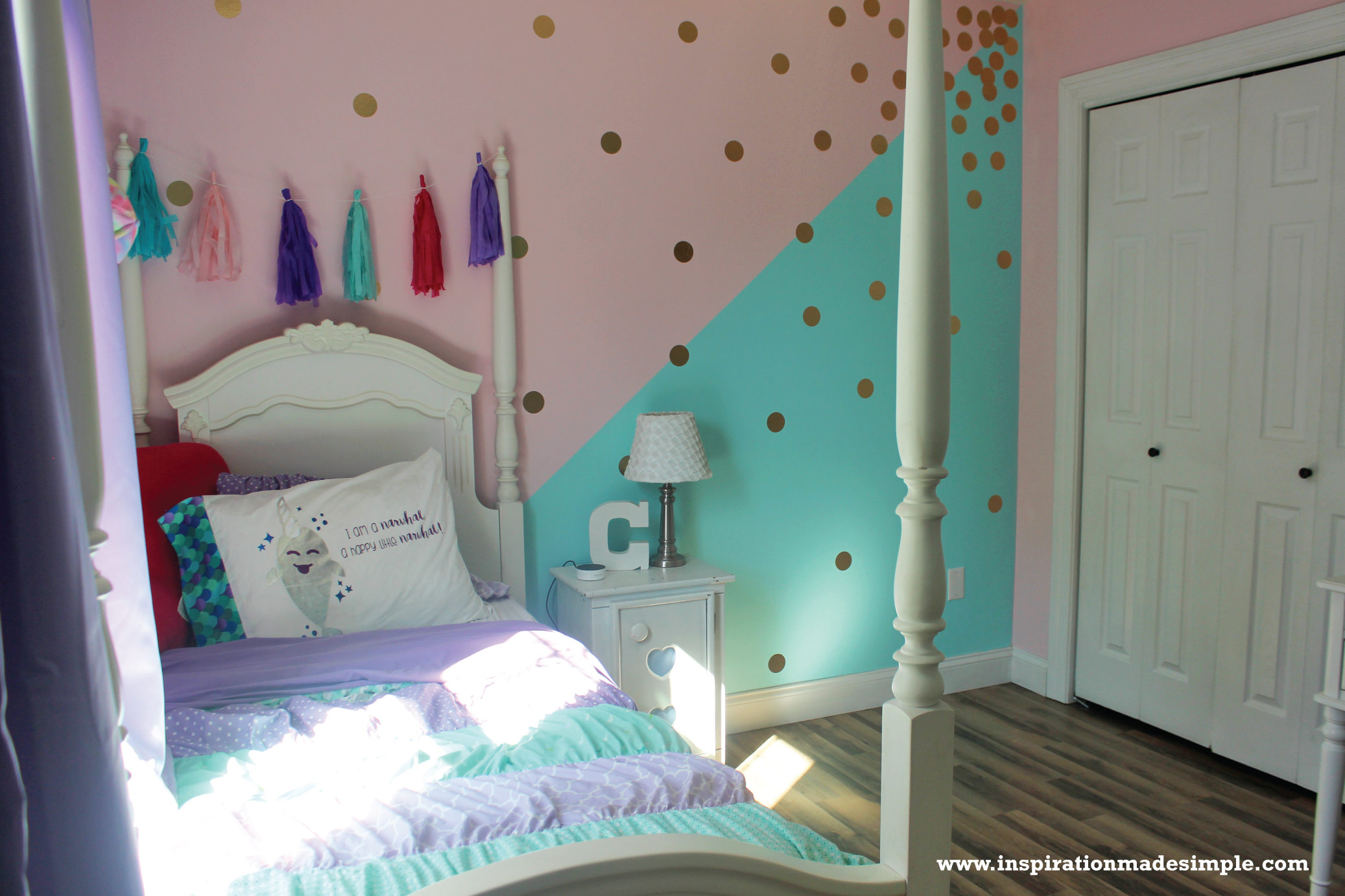 DIY Pastel Little Girls Room
