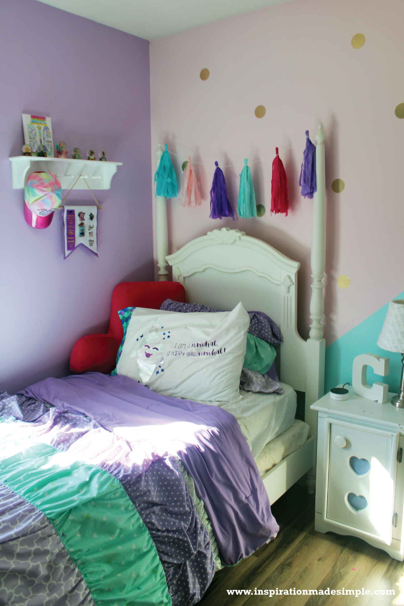 DIY Pastel Girls Room