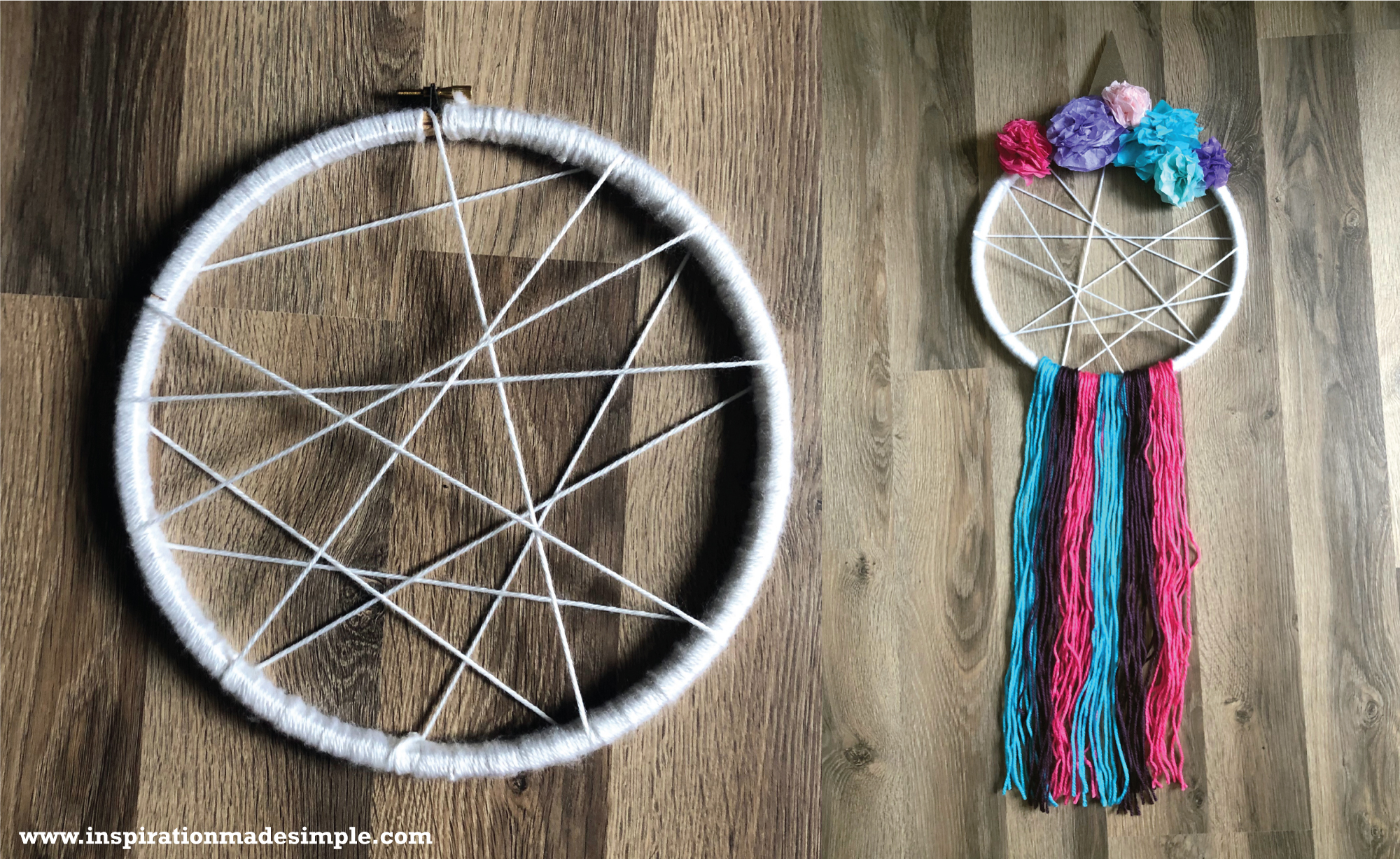DIY Unicorn Dream Catcher