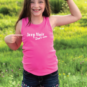 Jeep Hair, Don't Care Tee