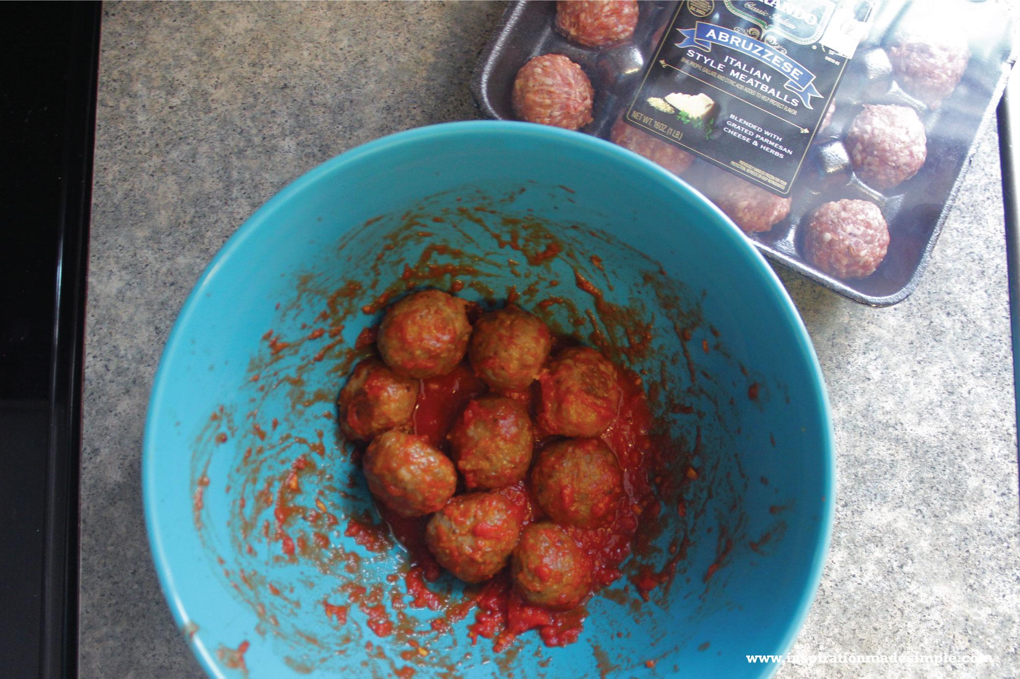Parmesan Crusted Meatball Quesadillas with Carando Meatballs #MyCarandoMeal