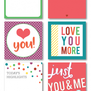 Love Themed Printable Journaling Cards – Collection 4