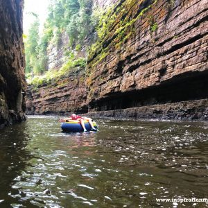 Hiking Ausable Chasm in New York