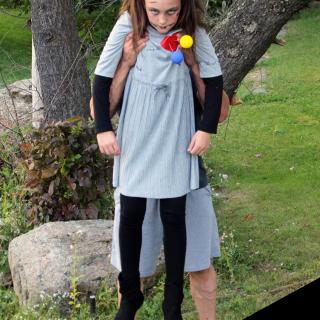 Simple DIY Voodoo Doll Halloween Costume
