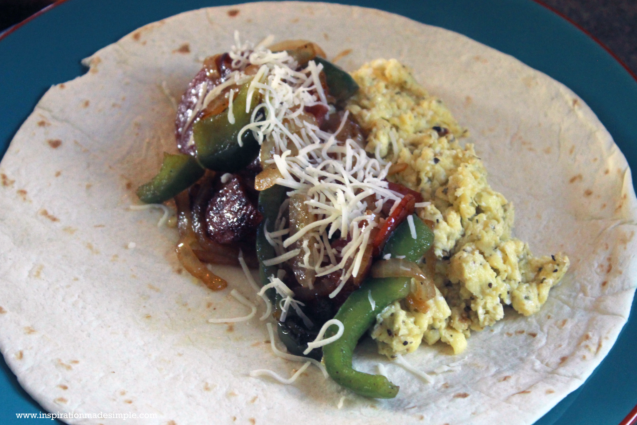 Italian Style Breakfast Burrito Recipe